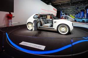 Das Urban EV Concept von Honda bei der IAA 2017 in Frankfurt am Main