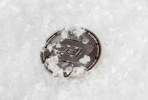 Dash coin ice concept