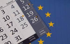 Datum der Europawahlen 2019