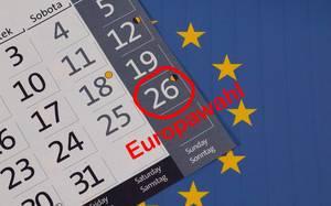 Datum der Europawahlen