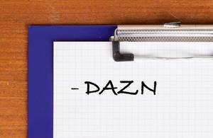 DAZN text on clipboard
