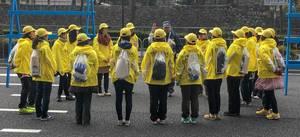 Debriefing of Tokyo Marathon Volunteers