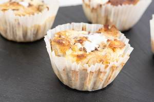 Delicious Cheese and Dough cupcake
