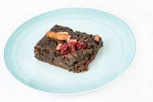 Delicious healthy Apple Cake with Cherries (Flip 2019)
