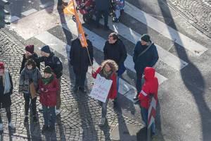 """Demonstranten von Fridays for Future """"mit E-Autos in die Sackgasse"""""""