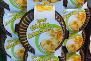 Der Chips Macher Form zum selbst Chips herstellen ohne Fett und ohne Öl