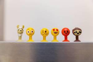 Der große Emoji Sammelspaß - verschiedene Emoji Figuren aus dem Aldi