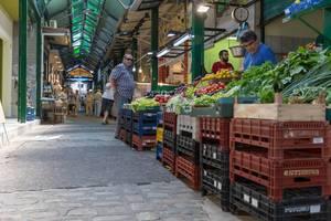 Der Kapani Markt in Thessaloniki