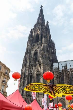 Der Kölner Dom - Chinafest, Köln