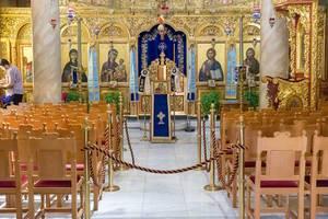 Der prachtvolle Innenraum des Heiligen Klosters der Heiligen Theodora