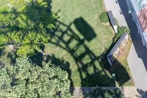 Der Schatten des Wiener Riesenrades