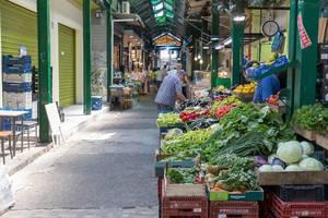 Der Vlali Markt in Thessaloniki