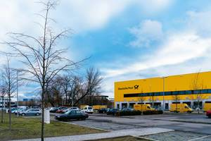 Deutsche Post logistic center in Berlin Charlottenburg