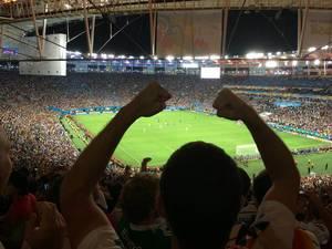 Deutschland gegen Argentinien - Finale der Fußball-WM 2014, Brasilien