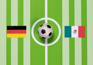 Deutschland gegen Mexiko bei der Fußball-Weltmeisterschaft 2018