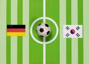 Deutschland gegen Südkorea bei der Fußball-Weltmeisterschaft 2018