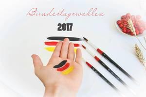 Deutschland wählt am 24.09.2017 den neuen  Bundestag