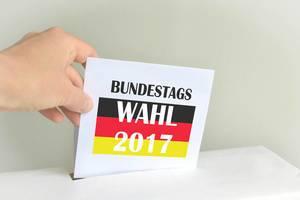 Deutschland wählt den neuen Bundestag 2017