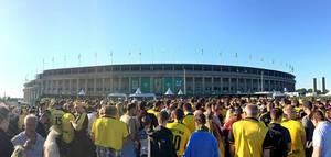 DFB-Pokalfinale 2017 Borussia Dortmund gegen Eintracht Frankfurt im Olympiastadion Berlin