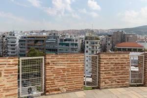 Die Aussicht vom Weißen Turm von Thessaloniki