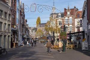 Die Fussgängerzone der Innenstadt Venlos