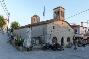 Die Kirche Agios Dimitrios in Afitos