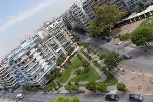 Die kleinen Gebäude in Thessaloniki