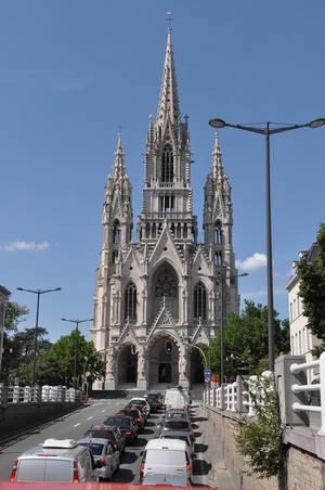 Die Liebfrauenkirche (Notre-Dame de Laeken) in Brüssel