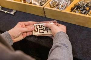 Die Rätsel Manufaktur Labyrinth handlich