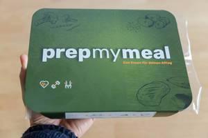 Die stilvoll minimalistische Verpackung der Prep My Meal Abnehm-Box