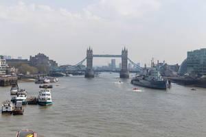 Die Themse und die Tower Bridge