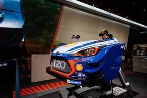 Die wilde Fahrt im VR+ Hyundai i20 WRC Simulator