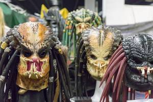 Different kinds of Predator masks