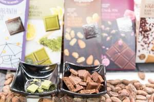Different types of vegan chocolate - Veganfach 2017