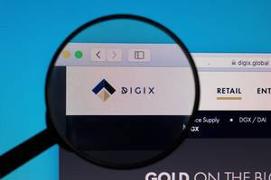 Digix logo under magnifying glass