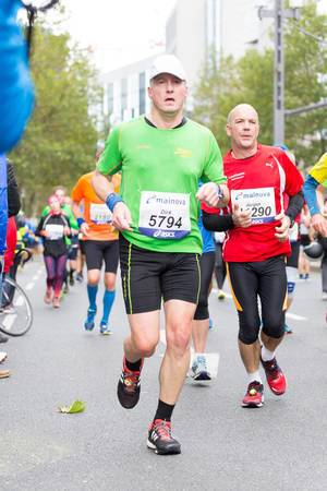 Dirk und Jürgen - Frankfurt Marathon 2017