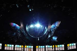 Disco ball - Tomorrowland music festival 2014
