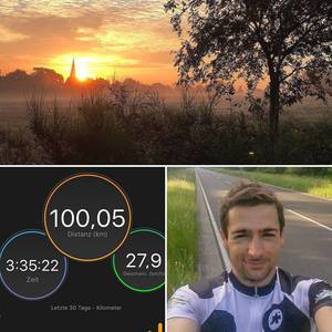 Do you like the Miracle Morning so much as I do? #earlybird #imwiesbaden #im703wiesbaden #triathlontraining #happy #morning #dawn #sun