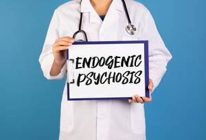 Doctor holding clipboard with Endogenic Psychosis text
