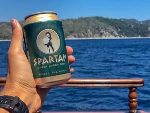 Dose griechischen Spartan Bieres