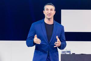 Dr. Wladimir Klitschko über Leadership auf der Digital X in Köln