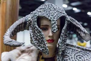 Dragonborn-Helm aus Skyrim