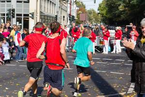 Drei Läufer - Köln Marathon 2017