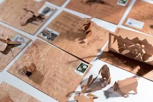 Dreidimensionale Postkarten und Grußkarten von formes Berlin