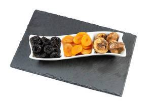 Dried Plums Peaches and Figs