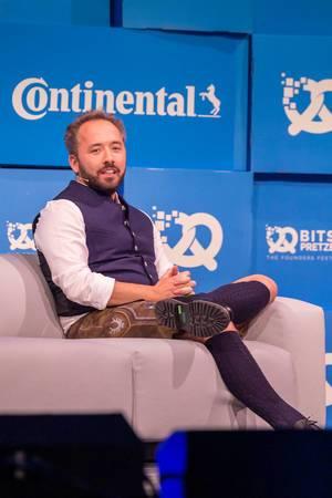 Dropbox co-founder Drew Houston answer Britta Weddeling