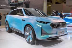 E-Auto von Wey auf der IAA präsentiert: Wey-X mit batterieelektrischem Antrieb