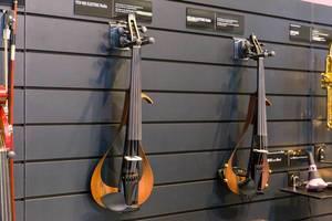 E-instrumente von Yamaha: YEV-105 elektrische Viola aus Ebenholz, Mahagoni und Ahorn