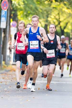 Eckers Marcel, Schnorr Stefan, Falkenthal Florian - Köln Marathon 2017