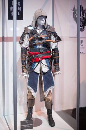 Edward Kenway Cosplay von Assassin